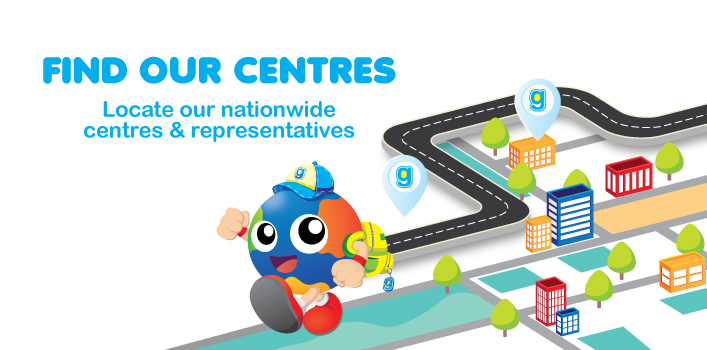 FIND OUR CENTRES