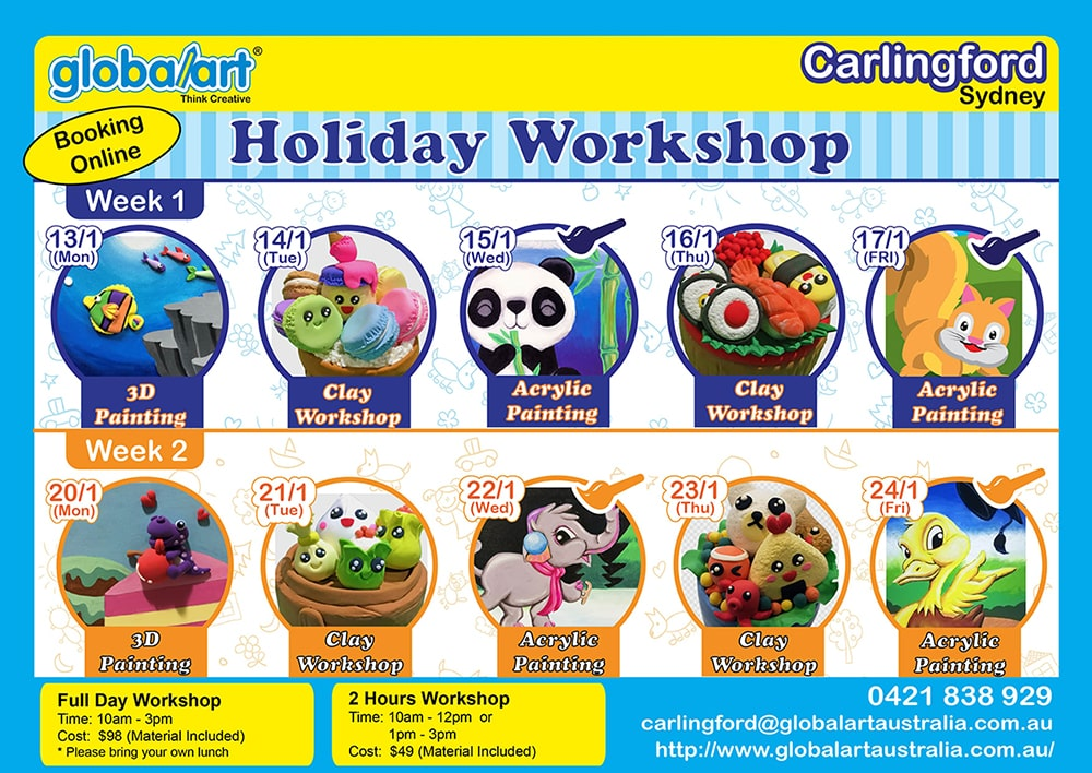 Jan 2020 Holiday Program (Carlingford)