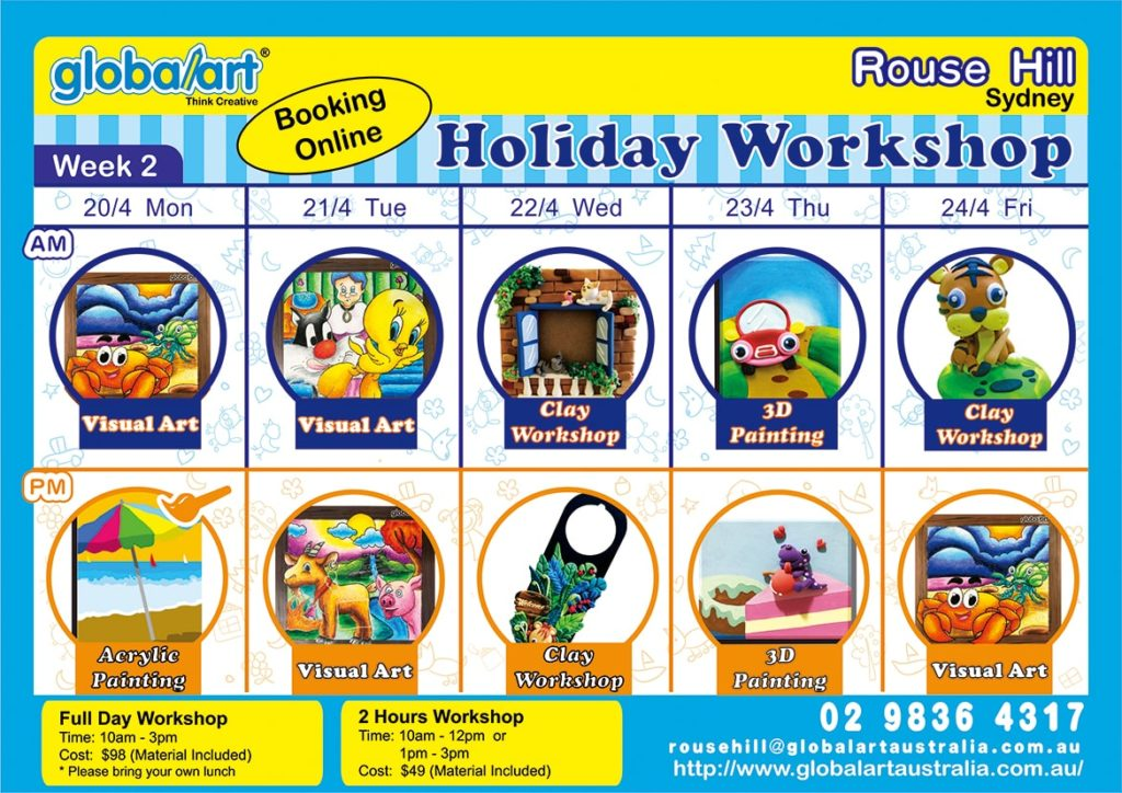 Apr 2020 Holiday Program (Rouse Hill)-Week2